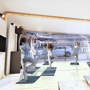 Volvo Car UK's 'Escape the City in your City' pop-up studio