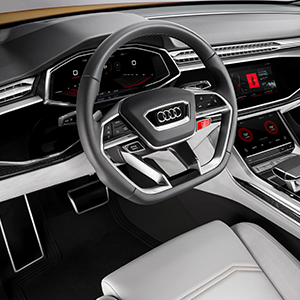 Audi Showcases Fully Integrated Android Operating System