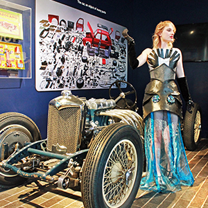 Automotive Steampunk costumes on show at Beaulieu