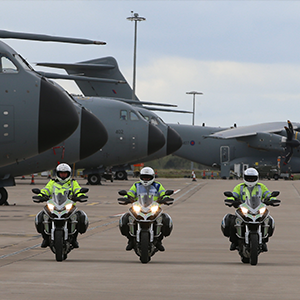 BikeSafe takes delivery of ten Ducati Multistrada 1200