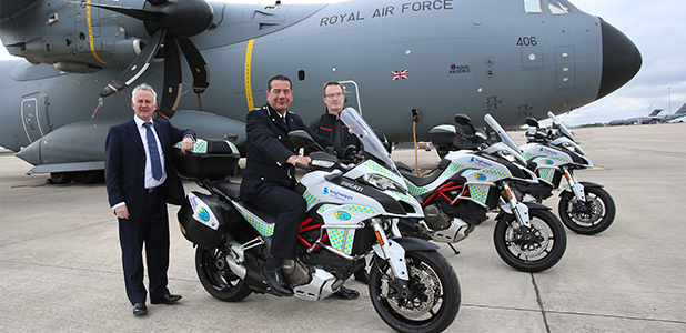 BikeSafe takes delivery of ten Ducati Multistrada 1200
