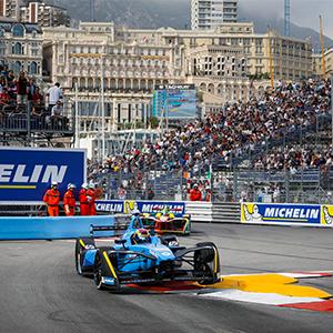 Buemi wins Monaco ePrix
