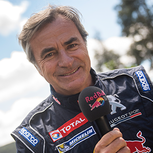 Carlos Sainz joined Red Bull TV for Rally Portugal