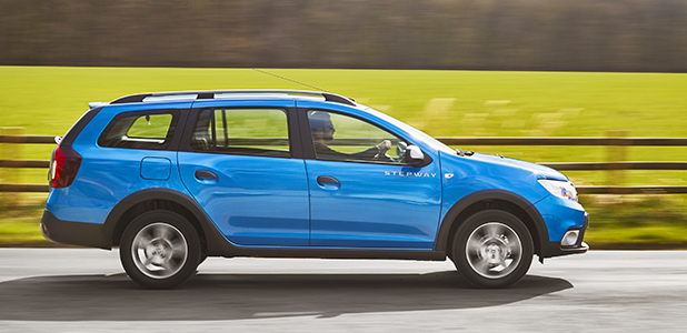 Dacia announces Logan MCV Stepway UK pricing specification