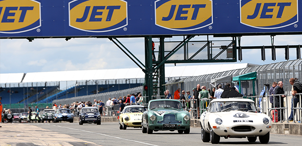 Even Greater JET Propulsion for the Silverstone Classic