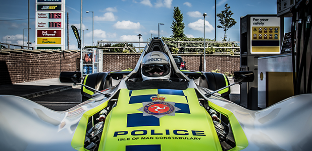 First-Ever BAC Mono Police Car