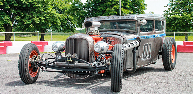 Ford Model A Rat Rod Sedan