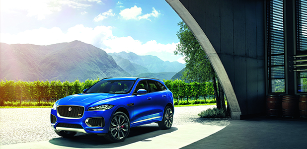 Jaguar F-PACE heading for London Motor Show