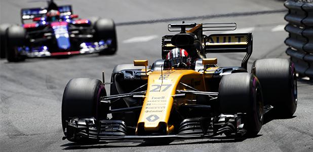 Jolyon Palmer at Monaco Grand Prix