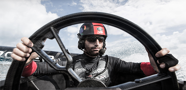 Land Rover helps steer Sir Ben Ainslie's America's Cup Campaign
