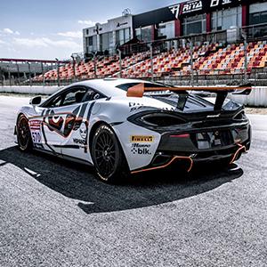 McLaren 570S GT4 to make debut at China GT Championship