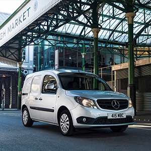 Mercedes-Benz Vans In First Small Awards