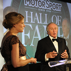Motor Sport Hall of Fame – Wednesday 7 June 2017 - Event Line Up
