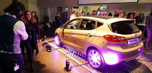 New Fiesta Vignale at interior design workshop