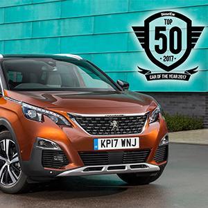 Peugeot 3008 SUV honoured in the Diesel Car Top 50 Awards