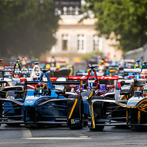 Renault E.Dams Win The Paris EPRIX