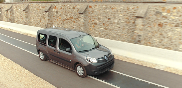 Renault Kangoo Z.E a future of never plugging in EV's