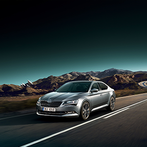 ŠKODA SUPERB with new equipment