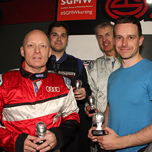 SGMW karting 2017 - 1st placed Ford team