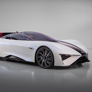 Techrules to display Ren electric supercar