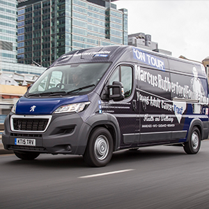 The Marcus Rutherford Foundation and Peugeot Tour Van