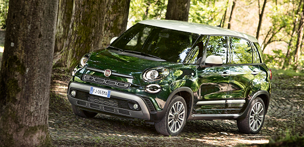 The New Fiat 500L - Cross