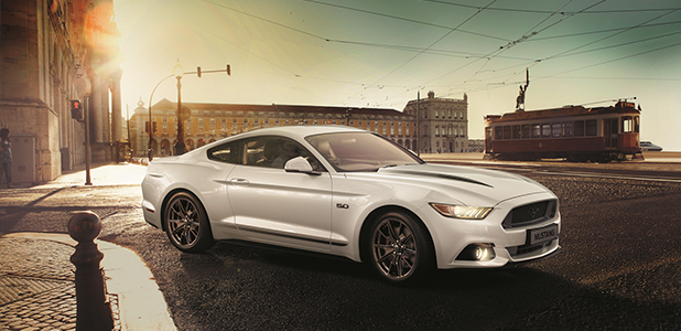 The new limited run Ford Mustang Shadow Edition