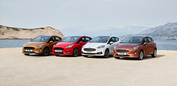 The stylish Ford Fiesta – Europe's best-selling car in March 2017