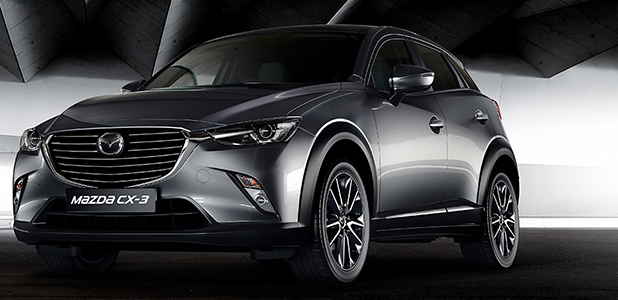Updated Mazda CX-3 and new GT Sport special edition arrive