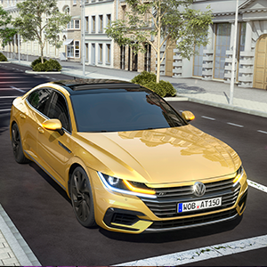 Volkswagen Arteon Pre-Crash proactive occupant protection system