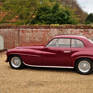 1949 Ferrari Tipo 166 Inter Coupe Touring