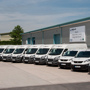 400th Peugeot van joins Millbrook Healthcare Fleet