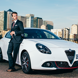 Alfa Romeo partners with British tailor Hawes & Curtis