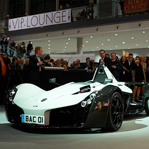 BAC Mono Supercar steals the show at JSAE Congress 2017