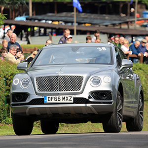 Bentley Motors took Shelsley Walsh Hill Climb by storm over the weekend with the 600bhp Bentayga shocking the crowds