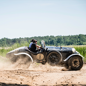 Bentley dominate Baltic Classic Rally