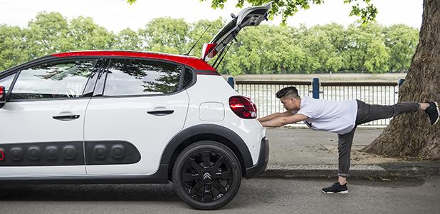 Citroën launch Car Yoga