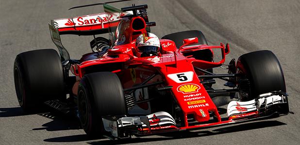 Ferrari SF70H Sebastian Vettel