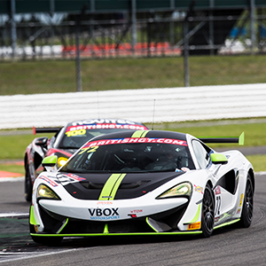 McLaren 570S GT4 takes victory in Silverstone 500
