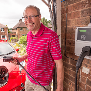 Nottingham gets its first electric vehicle home smart charger