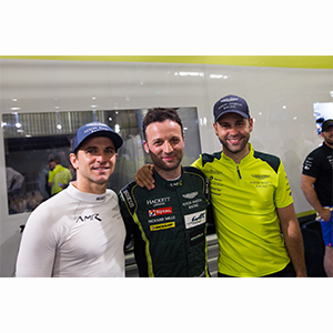 Pole position and Le Mans lap record for Aston Martin Racing