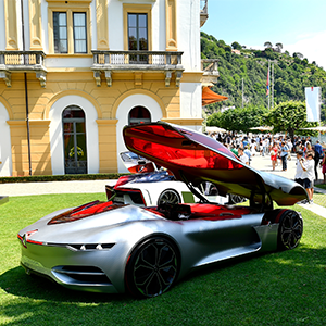 Renault Trezor voted most beautiful concept car at Concorso