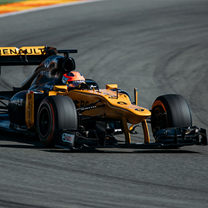 Robert Kubica gets the Formula 1 feeling in Valencia