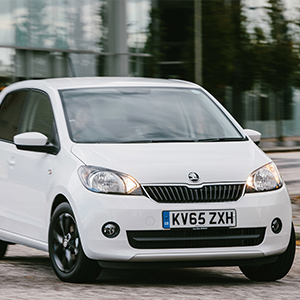 ŠKODA Citigo named Safest Used First Car 2017 by insurance giant