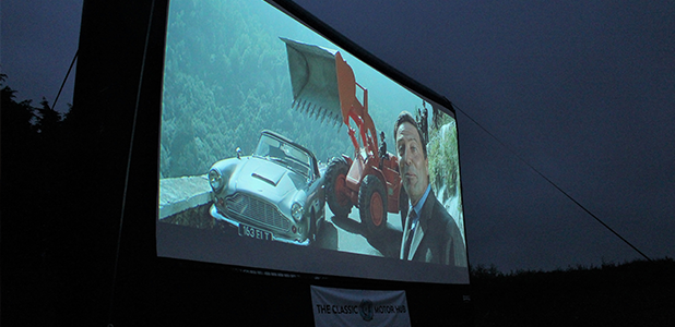 Saturday night at the movies - Classic Motor Hubs Drive-in Film