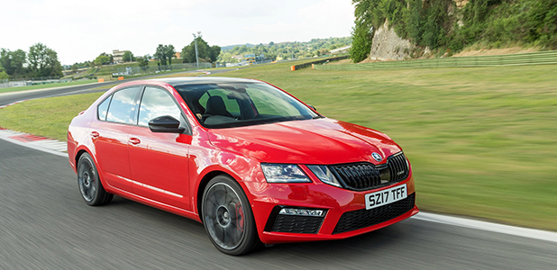The heat is on as ŠKODA unleashes new Octavia vRS 245 in the UK