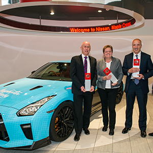 Top Trio Win Coveted Nissan Global Awards
