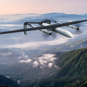 Wirth Research Hydrogen VTOL UAV cruise