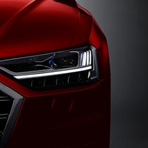 All-new Audi A8 fully active suspension steers clear of a rough ride