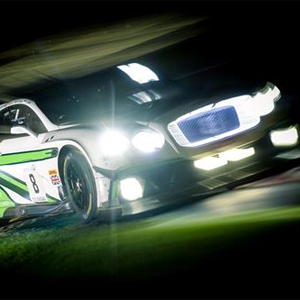 Bentley finishes in second place at the 24 Hours of Spa